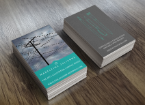 Business Cards, 2016.