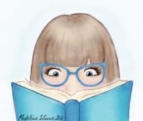 """""""Nose in a Book"""" 2016."""